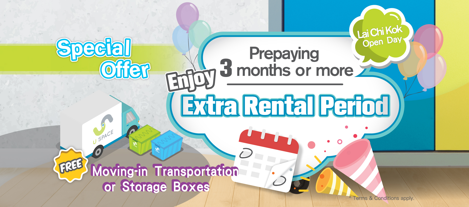 Lai Chi Kok Branch Open Day: extra 1 month for FREE upon prepaying for 3 months or more