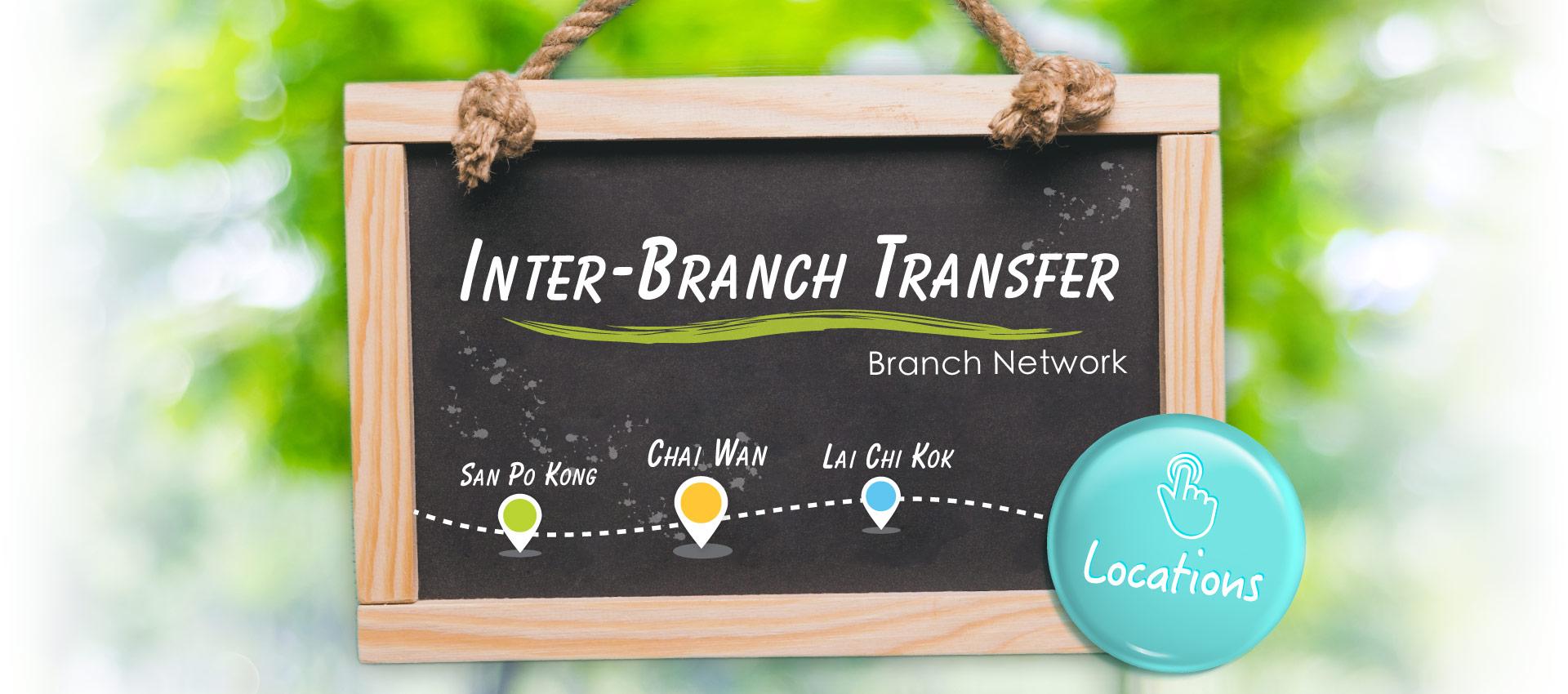 U space Inter-Branch Transfer